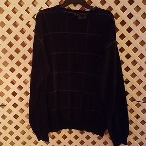Checkered xl sweater